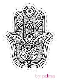 Coloriage Mandala Main Oriental De Fatma Dessin L L L L L L L L L