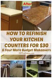 kitchen counter refinish