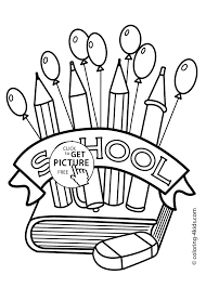 back to school coloring pages printable page for preschool