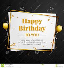Happy Birthday Business Card Happy Birthday To You Greeting Card Elegant Professional