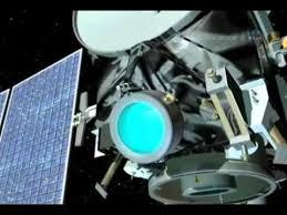 Sonda Dawn, en primer plano motor Iónico