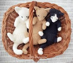 Free Crochet Cat Patterns Gorgeous RubMyBelly Kittens Stuff The Body