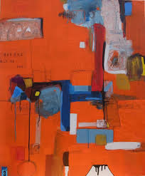 saatchi art artist andrew weir painting she left silently a winter of