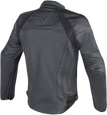 dainese fighter perforated leather jacket free next day delivery bike stop
