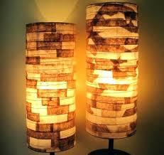 Paper Shade Floor Lamp Impressive Lamp Paper Shade Floor Lamp Square With Square Floor Lamp With