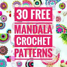 Free Crochet Mandala Pattern Magnificent Set Free My Gypsy Soul A Crochet Craft Blog 48 Free Mandala