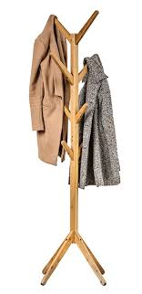 Upright Coat Rack Nice Buddy Products Bamboo Coat Rack 100 Hooks In The Middle For Hats 51