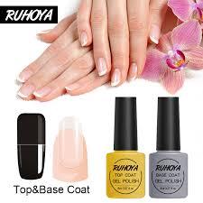 Ruhoya <b>укрепляющий</b> базовый верхний слой Гель-<b>лак для ногтей</b> ...