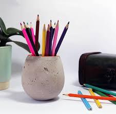 Concrete Pen Holder