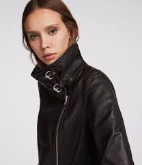 bales leather biker jacket