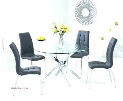 glass round dining table for 4 black dining table 4 chairs white glass round dining table