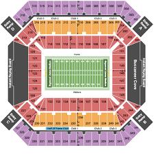 raymond james stadium seating chart