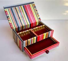 diy cardboard jewelry box
