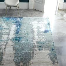 gray and blue rug blue grey rug runner gray blue yellow rug