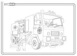 Brandweerwagen Brandweer Politie Kleurplaten Pinterest