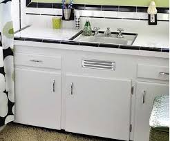 where to buy a metal vent grille for a sink base cabinet retro