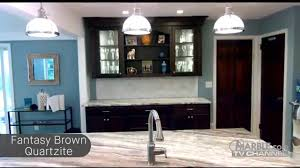Marble Vs Granite Kitchen Countertops Fantasy Brown Quartzite Golden Riviera Granite Kitchen