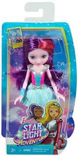Barbie Star Light Adventure Sprite Doll Barbie Star Light Adventure 6 5 Inch Sprite Doll Purple