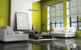 Awesome Contemporary Green Living Room Designs with White Modern Sofas and  Wooden Low Coffee Storage Table