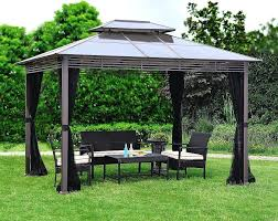 unusual gazebo curtains home depot pictures design