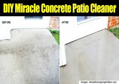 cement patio cleaner