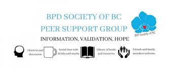 borderline personality disorder bpd society of british columbia r support group vancouver