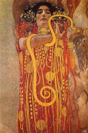 gustav klimt hygieia a fragment of the painting cine the ceiling