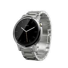 moto 2nd gen watch. amazon.com: motorola moto 360 (2nd gen.) - mens 42mm, silver with metal: cell phones \u0026 accessories 2nd gen watch m
