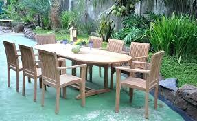 13 piece dining table set nice teak wood patio furniture set piece teak dining set how