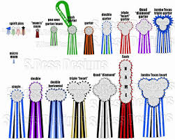 Chart To See Sizes And Types For Homecoming Mums