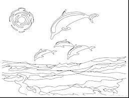 Coloring Page Dolphin To Print Mermaid And Printable Pages Free Pa