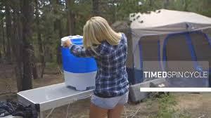 Travel Washing Machine Basecamp By Mr Heater Portable Single Tub Washing Machine Youtube