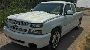 White 2003 Silverado ss for sale - YouTube