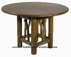 48 inch round table with leaf remarkable bradley s furniture etc utah rustic dining table sets