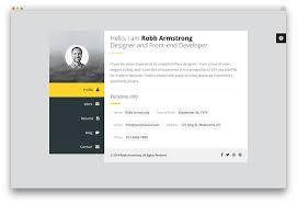 Best Vcard Wordpress Resume Wordpress Theme Awesome Free Resume