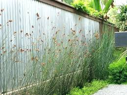 diy corrugated metal fence plans install privacy fences with well made fencing as landscape contemporary architects
