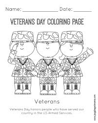 Veterans Day Printable Coloring Page Girl Scouts Veterans Day