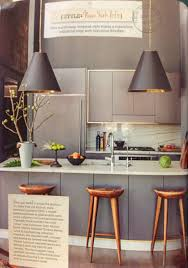 Kitchen Hanging Light New York Loft Style Kitchen Home Pinterest Hanging Lights