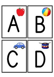 Alphabet Flashcards Capital Letters Only