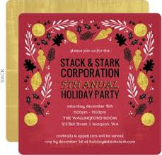 Company Christmas Party Invitations Is Charming Ideas Which Can Be