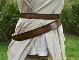 rey costume belt