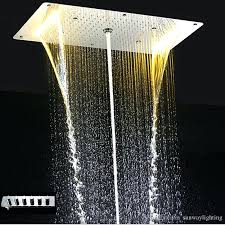 shower heads with led lighting shower heads with lights led shower