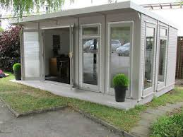 home office cabin. Image Is Loading The-Fully-Insulated-Garden-EcoSuite-Home-Office-Log- Home Office Cabin N