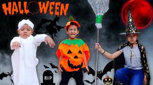 Trò Chơi Hóa Trang Mùa Halloween - Bé Nhím TV - Đồ Chơi Trẻ Em Thiếu Nhi -  YouTube