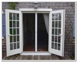 french doors exterior. French Doors Exterior Outswing Screens