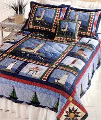 lighthouse comforters and quilts 21 outstanding lighthouse bedding digital picture design sailboat lighthouse quilt