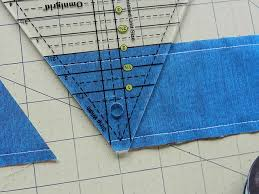 1000+ images about 60 degree triangle on Pinterest & Molly Flanders Makerie: Pyramid Quilt - How to piece and cut 60 degree  triangles from Adamdwight.com