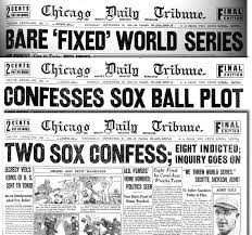 world series poster chicago tribune