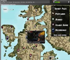 dead island interactive collectible map guide ps3 trophies forum Dead Island Map dead island interactive collectible map guide dead island map minecraft
