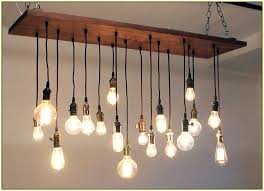 edison light bulb chandelier with fuloon vintage multiple vintage light bulb chandelier